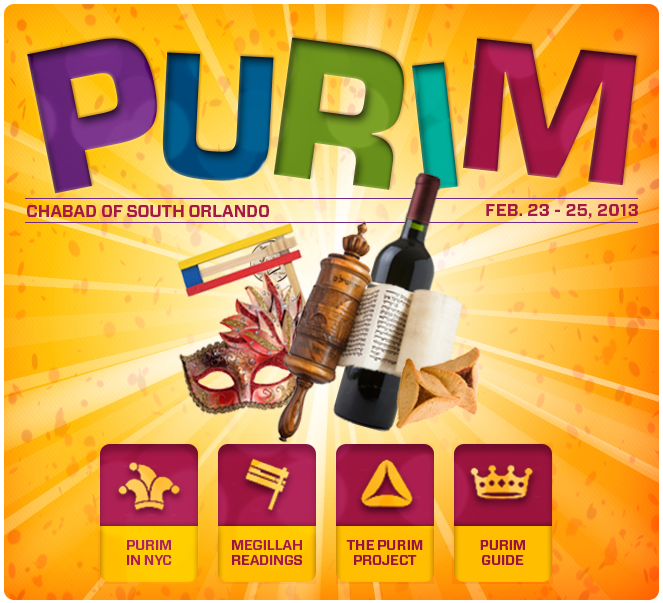 Celebrate Purim with Chabad of South Orlando