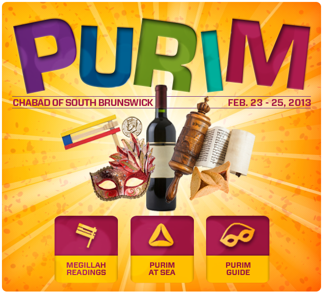 Celebrate Purim with Chabad of South Brunswick
